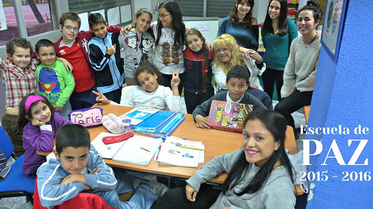 La Escuela de Paz inicia el curso escolar 2015 - 2016