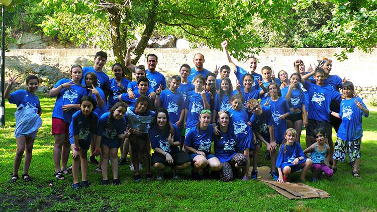 La Escuela de Paz se va de cinco días de campamento de verano